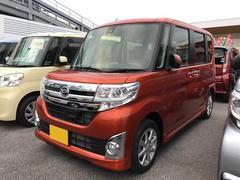 沖縄の中古車 ダイハツ タント 車両価格 147万円 リ済別 平成27年 9K オレンジ