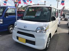 沖縄の中古車 ダイハツ タント 車両価格 138万円 リ済別 平成27年 0.6万K ホワイト