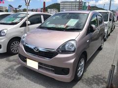 沖縄の中古車 ダイハツ ミライース 車両価格 105万円 リ済別 平成28年 0.6万K ライトローズマイカM