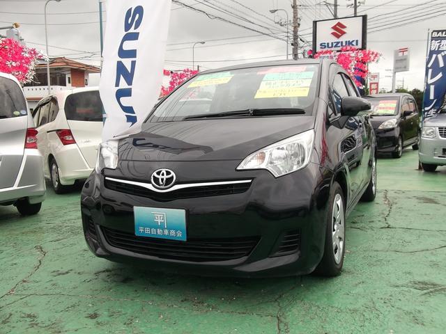 沖縄の中古車 トヨタ ラクティス 車両価格 47万円 リ済別 2011(平成23)年 8.1万km ブラック