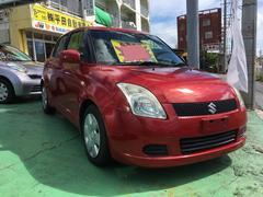 沖縄の中古車 スズキ スイフト 車両価格 29万円 リ済込 平成19年 10.8万K レッド