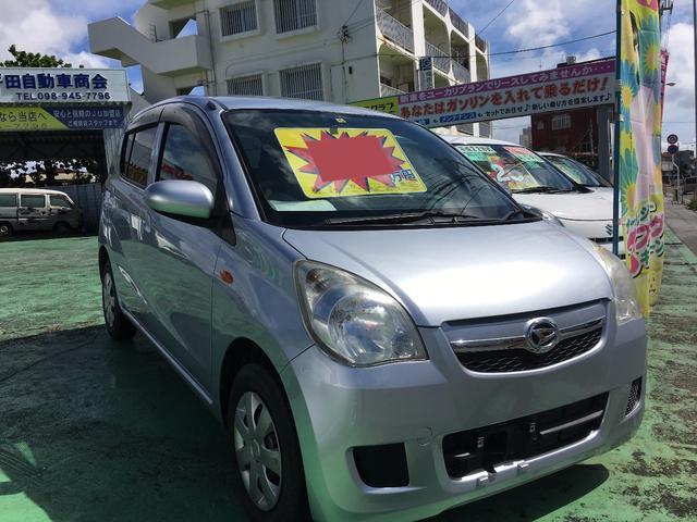 沖縄の中古車 ダイハツ ミラ 車両価格 29万円 リ済別 平成23年 7.7万km シルバー