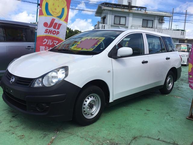 沖縄の中古車 日産 AD 車両価格 49万円 リ済込 2014(平成26)年 4.6万km ホワイト