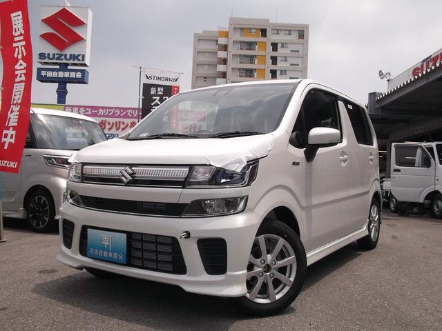 沖縄の中古車 スズキ ワゴンR 車両価格 143.1万円 リ未 新車  ピュアホワイトパール
