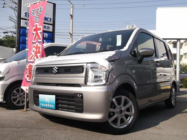 沖縄の中古車 スズキ ワゴンR 車両価格 133.3万円 リ未 新車  シルバー