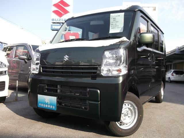 沖縄の中古車 スズキ エブリイ 車両価格 113.7万円 リ未 新車  クールカーキパールメタリック