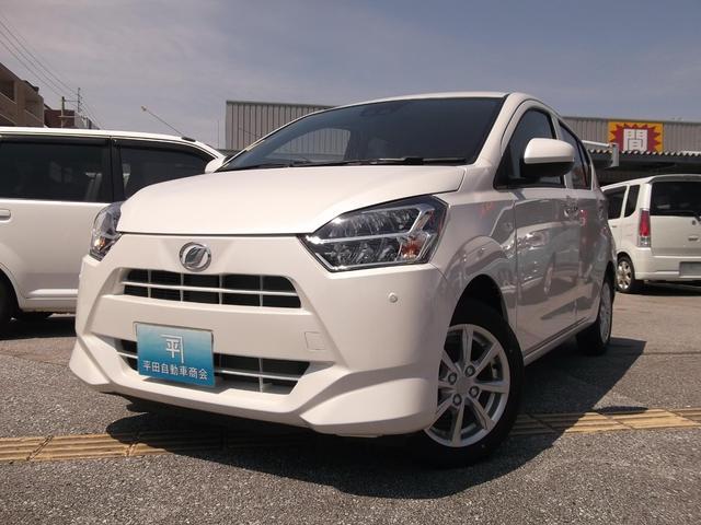 沖縄の中古車 ダイハツ ミライース 車両価格 123.1万円 リ未 新車  パール