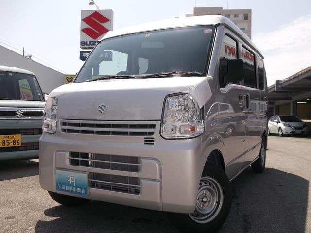 沖縄の中古車 スズキ エブリイ 車両価格 90万円 リ済込 2019年 8km シルキーシルバーメタリック