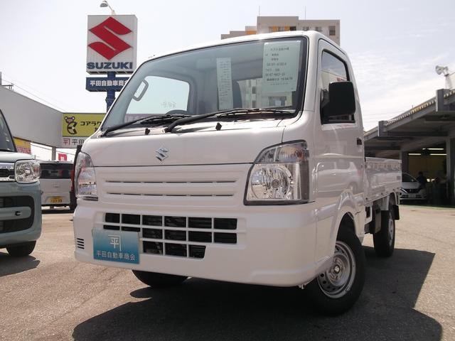沖縄の中古車 スズキ キャリイトラック 車両価格 78万円 リ済込 2019(平成31)年 3km スぺリアホワイト