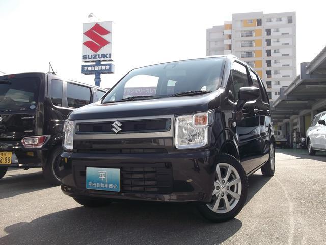 沖縄の中古車 スズキ ワゴンR 車両価格 133.6万円 リ未 新車  ノクターンブルーパール