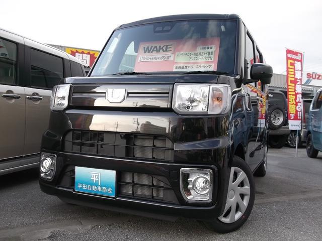 沖縄の中古車 ダイハツ ウェイク 車両価格 151.8万円 リ未 新車  ブラックマイカメタリック