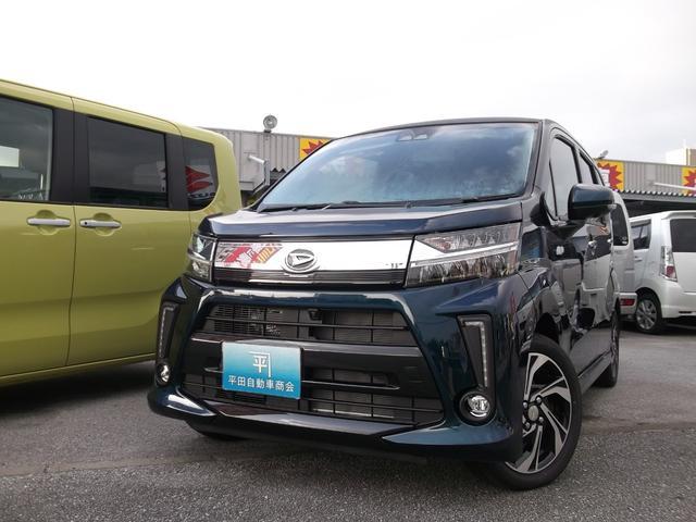 沖縄の中古車 ダイハツ ムーヴ 車両価格 167.7万円 リ未 新車  レザーブルークリスタルシャイン