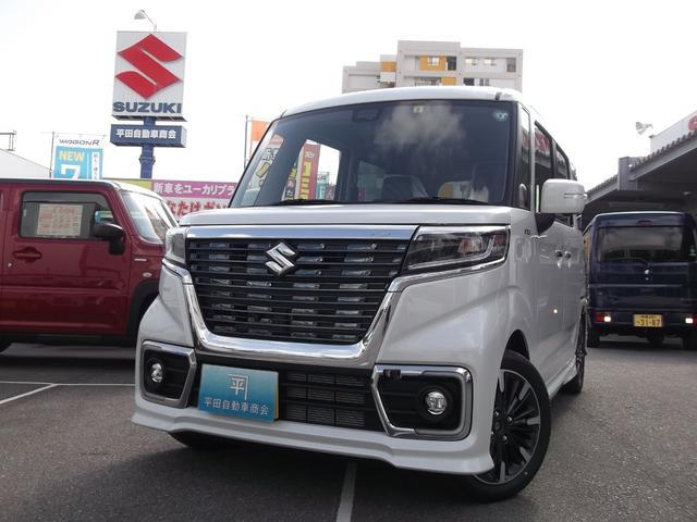 沖縄県島尻郡与那原町の中古車ならスペーシアカスタム ハイブリッドXS