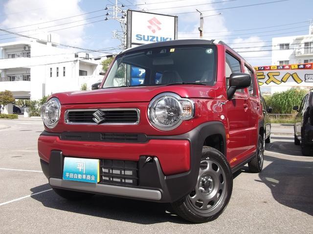 沖縄の中古車 スズキ ハスラー 車両価格 140万円 リ未 新車  フェニックスレッドパールガンメタリック2トン