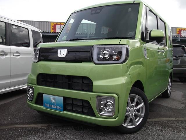 沖縄の中古車 ダイハツ ウェイク 車両価格 162.8万円 リ未 新車  Lグリーン
