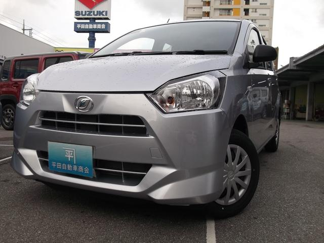 沖縄の中古車 ダイハツ ミライース 車両価格 95.7万円 リ未 新車  ブライトシルバーメタリック