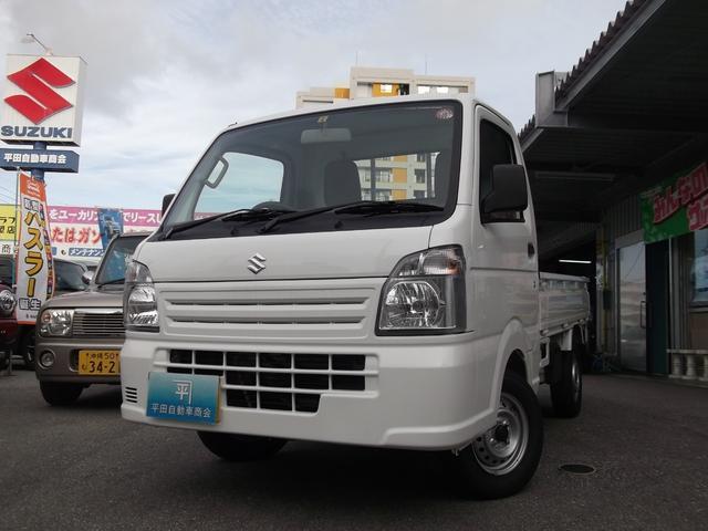 沖縄の中古車 スズキ キャリイトラック 車両価格 72万円 リ未 2020(令和2)年 4km スペリアホワイト