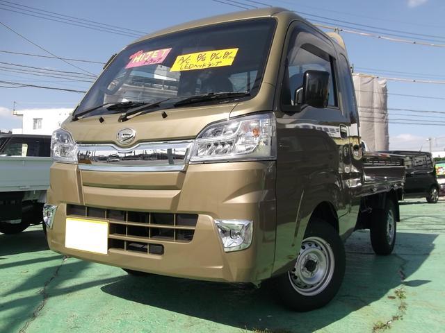 沖縄の中古車 ダイハツ ハイゼットトラック 車両価格 121万円 リ済込 2020(令和2)年 8km オフビートカーキメタリック