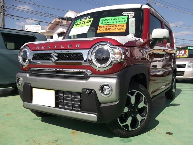 沖縄の中古車 スズキ ハスラー 車両価格 155万円 リ済込 2020(令和2)年 5km レッドII