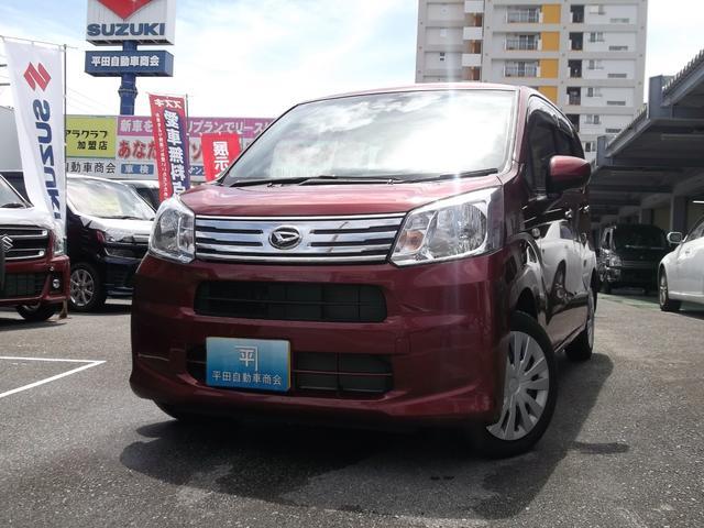 沖縄の中古車 ダイハツ ムーヴ 車両価格 115万円 リ済込 2020(令和2)年 0.2万km ファイアークォーツレッドメタリック