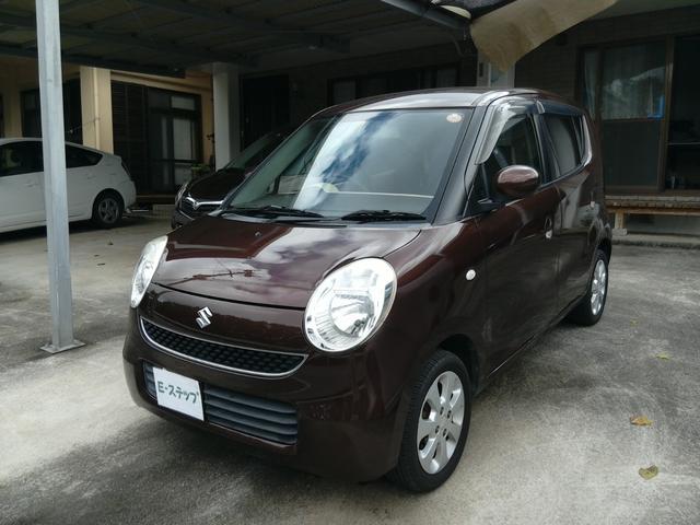 沖縄の中古車 スズキ MRワゴン 車両価格 19万円 リ済込 2006(平成18)年 8.3万km ブラウンM