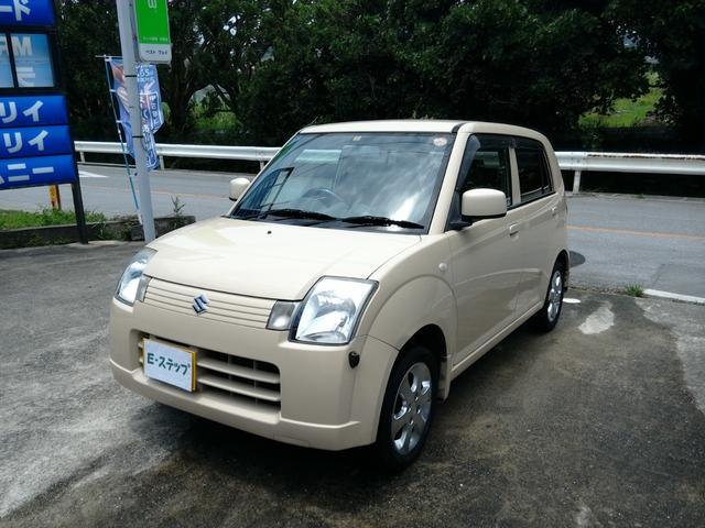 沖縄の中古車 スズキ アルト 車両価格 15万円 リ済込 2006(平成18)年 11.4万km ベージュ