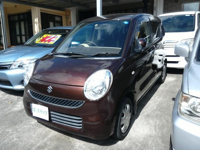 沖縄の中古車 スズキ MRワゴン 車両価格 17万円 リ済込 2006(平成18)年 10.8万km ブラウンM