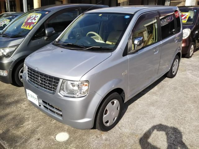 沖縄の中古車 三菱 eKワゴン 車両価格 25万円 リ済込 2013(平成25)年 6.8万km シルバーM