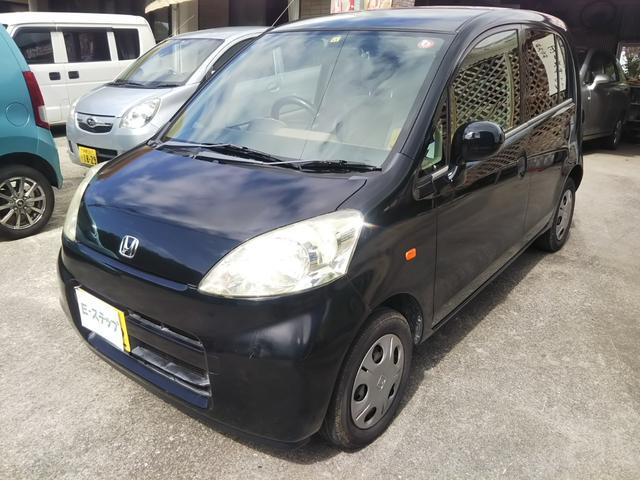 沖縄の中古車 ホンダ ライフ 車両価格 18万円 リ済込 2006(平成18)年 13.4万km ブラックM