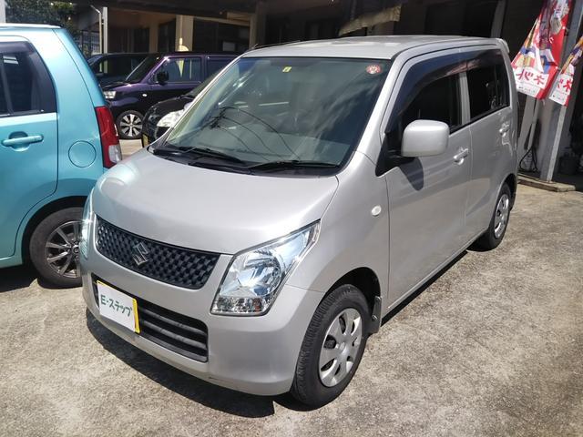 沖縄の中古車 スズキ ワゴンR 車両価格 24万円 リ済込 2012(平成24)年 11.2万km シルバーM