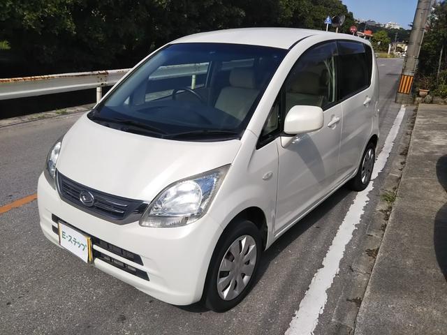 沖縄の中古車 ダイハツ ムーヴ 車両価格 25万円 リ済込 2010(平成22)年 6.5万km ホワイトM