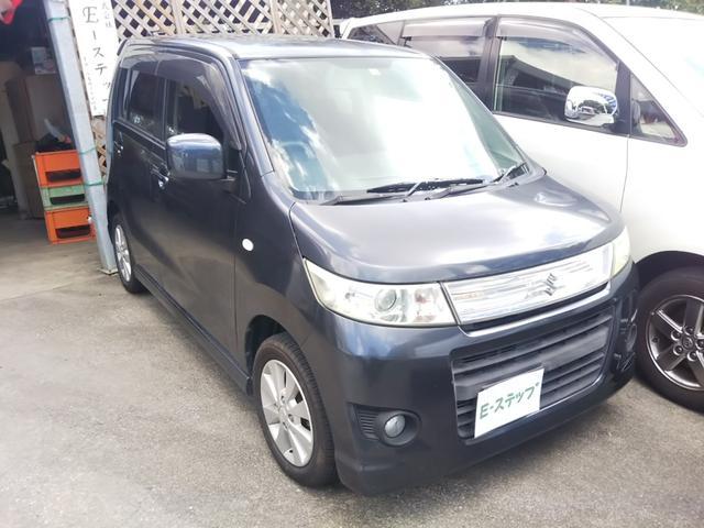 沖縄の中古車 スズキ ワゴンRスティングレー 車両価格 23万円 リ済込 2009(平成21)年 11.2万km グレーM