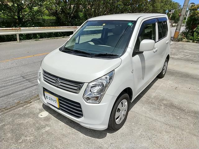 沖縄県中頭郡西原町の中古車ならワゴンR FX 本土車 ナビ TV ETC付き