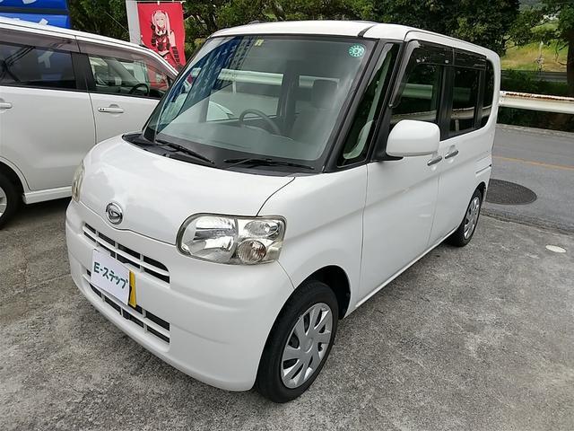 沖縄の中古車 ダイハツ タント 車両価格 41万円 リ済込 2013(平成25)年 8.9万km ホワイト