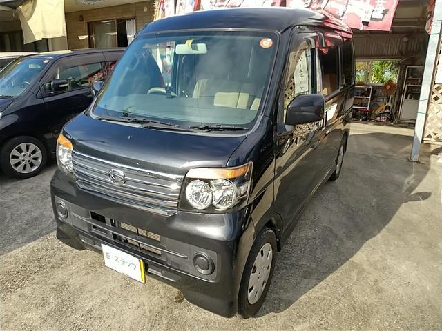 沖縄の中古車 ダイハツ アトレーワゴン 車両価格 43万円 リ済込 2010(平成22)年 6.2万km ブラックM