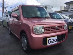 沖縄の中古車 スズキ アルトラパン 車両価格 45万円 リ済込 平成21年 5.3万K ピンク
