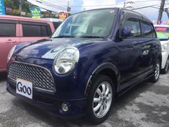 沖縄の中古車 ダイハツ ミラジーノ 車両価格 39万円 リ済込 平成18年 11.5万K ダークブルー