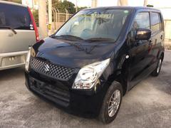 沖縄の中古車 スズキ ワゴンR 車両価格 40万円 リ済込 平成23年 10.3万K ブラック