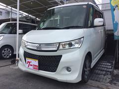 沖縄の中古車 スズキ パレットSW 車両価格 59万円 リ済込 平成21年 6.5万K パール