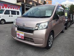 沖縄の中古車 ダイハツ ムーヴ 車両価格 65万円 リ済込 平成25年 2.5万K ピンク