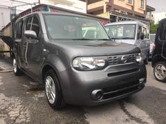 沖縄の中古車 日産 キューブ 車両価格 49万円 リ済込 平成25年 9.3万K グレー