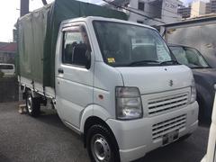 沖縄の中古車 スズキ キャリイトラック 車両価格 59万円 リ済込 平成25年 4.9万K ホワイト