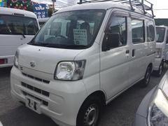 沖縄の中古車 ダイハツ ハイゼットカーゴ 車両価格 59万円 リ済込 平成25年 4.9万K ホワイト