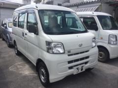 沖縄の中古車 ダイハツ ハイゼットカーゴ 車両価格 54万円 リ済込 平成24年 8.7万K ホワイト