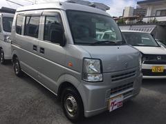 沖縄の中古車 スズキ エブリイ 車両価格 34万円 リ済込 平成20年 9.5万K シルバー