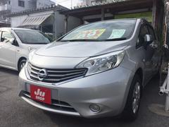 沖縄の中古車 日産 ノート 車両価格 60万円 リ済込 平成25年 3.5万K シルバー