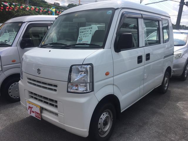 沖縄の中古車 スズキ エブリイ 車両価格 64万円 リ済込 平成24年 5.5万km ホワイト