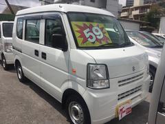 沖縄の中古車 スズキ エブリイ 車両価格 58万円 リ済込 平成24年 7.4万K ホワイト
