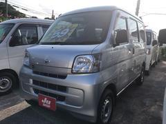 沖縄の中古車 ダイハツ ハイゼットカーゴ 車両価格 55万円 リ済込 平成24年 9.0万K シルバー