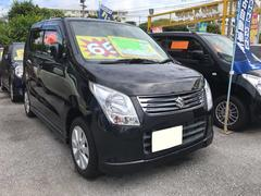 沖縄の中古車 スズキ ワゴンR 車両価格 64万円 リ済込 平成22年 2.7万K ブラック